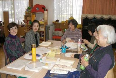 2009年度大阪YWCA点字子ども図書室に支援金贈呈