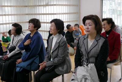 日本ヘレンケラー財団平和寮にてミニコンサート開催