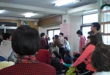日本ヘレンケラー財団平和寮ミニコンサート開催
