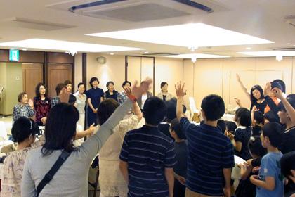 大阪ベンチャークラブ主催 高津学園法然寮生徒を招いてのお食事会